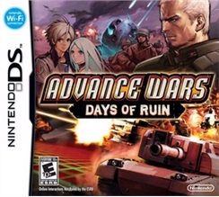 Advance wars 2 box