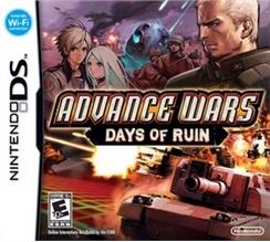 Advance wars 2 box