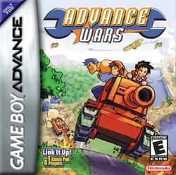Advance wars 1 box